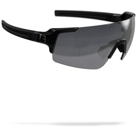 BBB FullView Sports Glasses glossy black/smoke